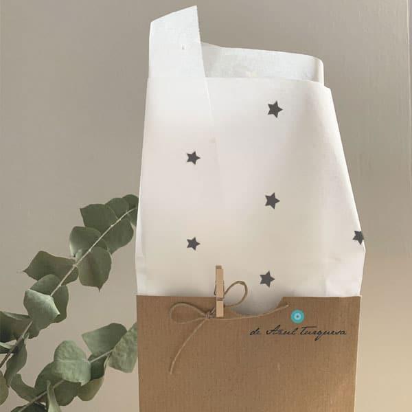 papel de seda estampado